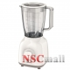 Blender Philips HR2100/00, 400W, 1,5 l, 2 viteze, Alb/Bej